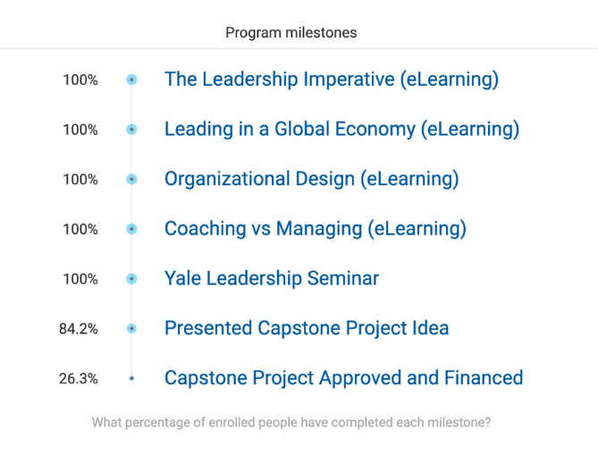 Leadership Development Program Milestones