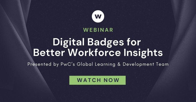 Webinar: Digital Badges for Better Workforce Insights