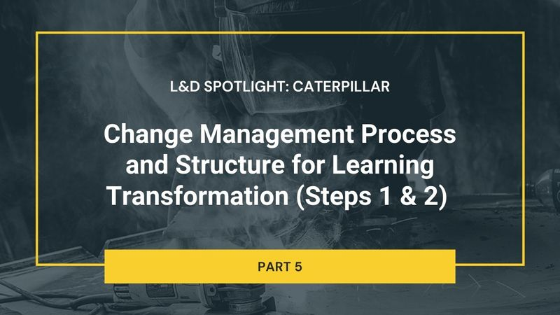Change Management Process and Structure