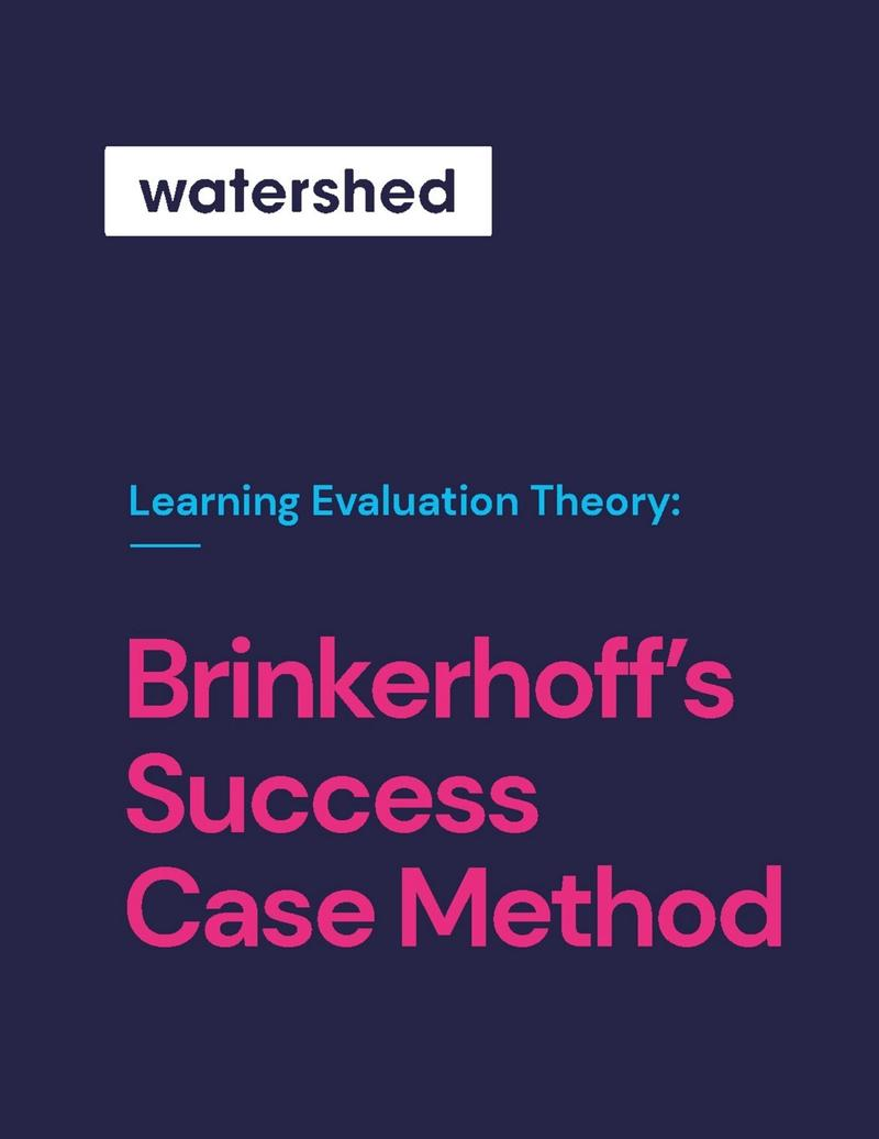 Brinkerhoff Success Case Method eBook