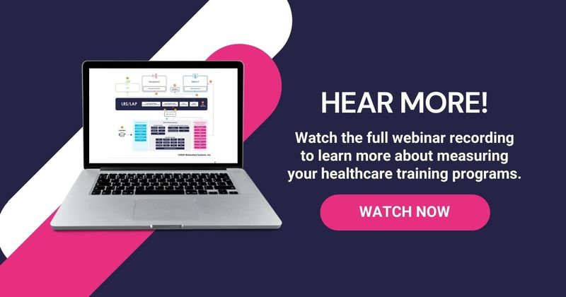 Healthcare Training Measurement Webinar