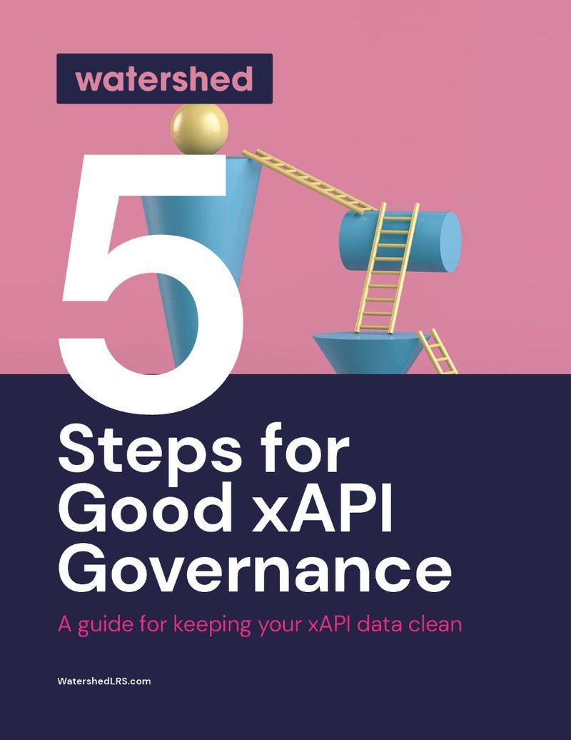 What is good xAPI governance?