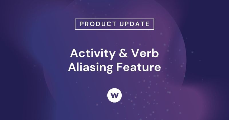 Watershed's Activity & Verb Aliasing allow multiple identifiers to appear as one activity or verb.