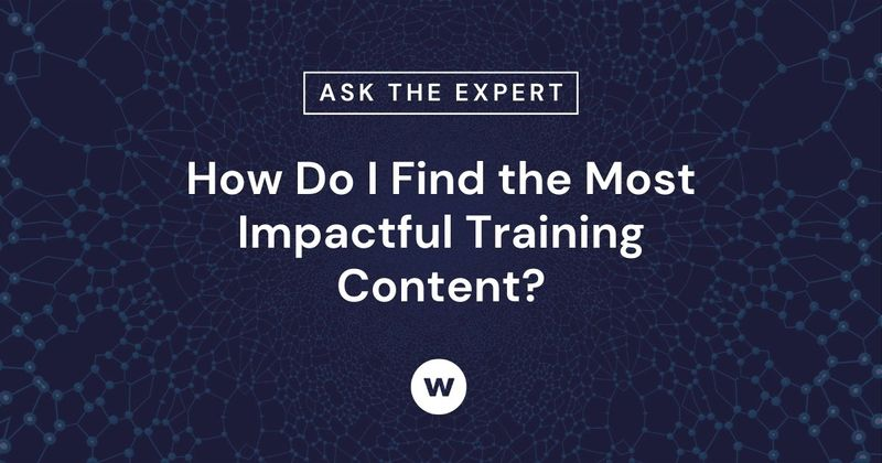 Find the most impactful learning content.