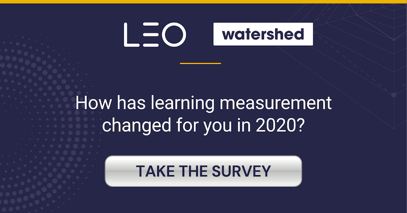 Measuring Business Impact of Learning Survey 2020