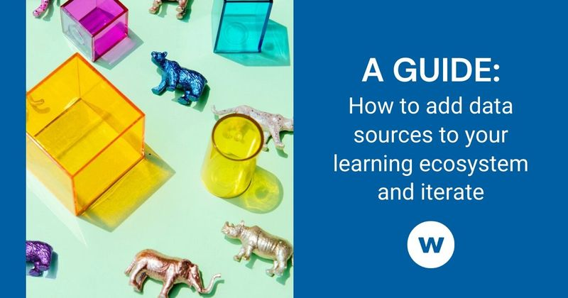See how to add data sources to your learning ecosystem.