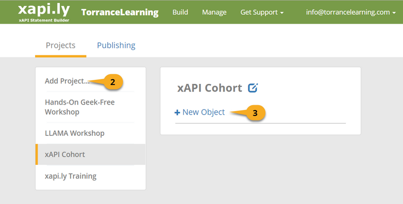 Watershed xapi.ly add project