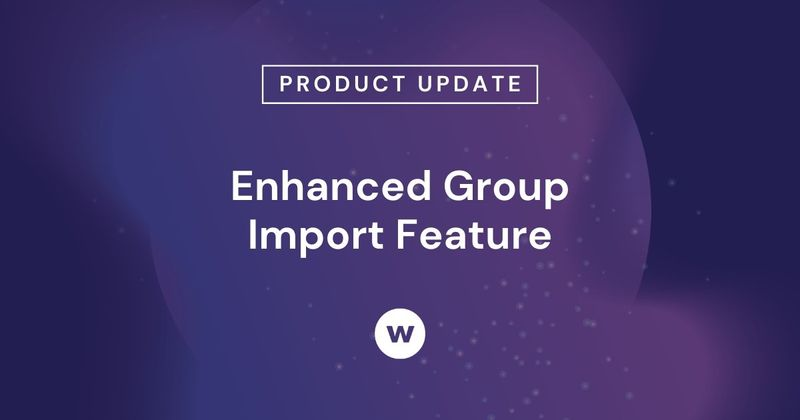 Use Watershed's Group Import feature to quickly upload CSV files or regularly send CSV files with the same learning data.