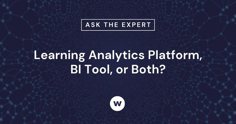 What's the difference between a learning analytics platform and a BI tool comparison?