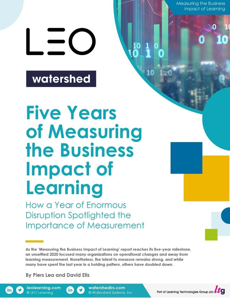 Measuring the Business Impact of Learning in 2021 Report