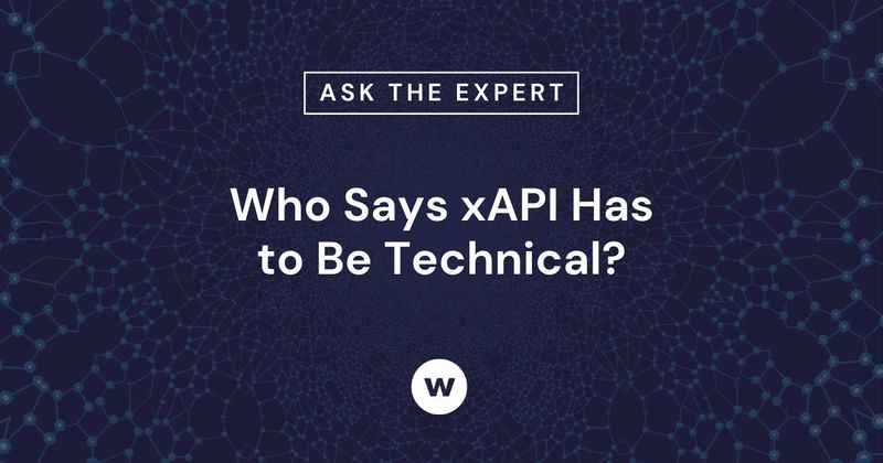 How technical is xAPI?