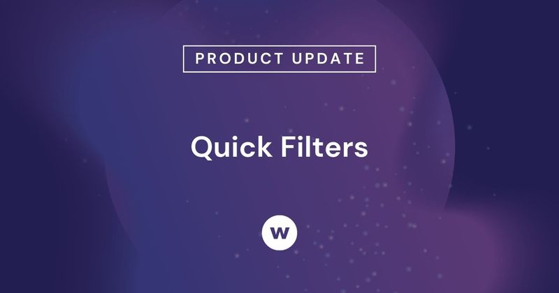 Quick Filters limit report control to users not familiar with Watershed.
