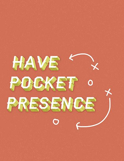 Have pocket presence decorative typeface