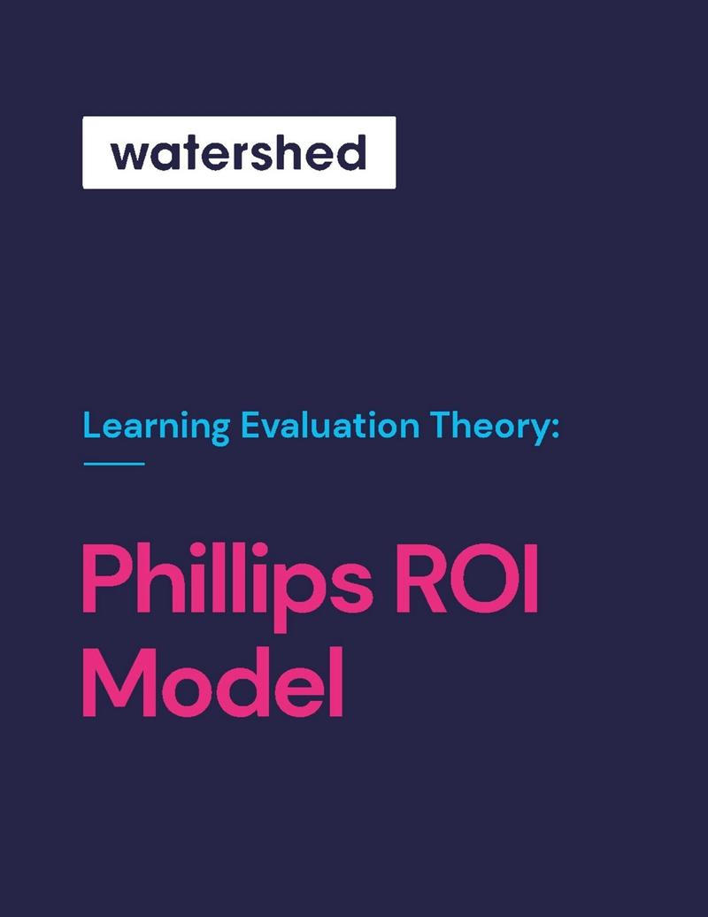 Phillips Learning Evaluation Model