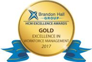 Award logo for excellence in workforce management