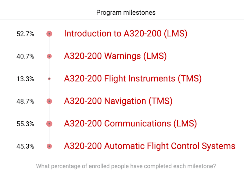 Aviation Certification Training Milestones