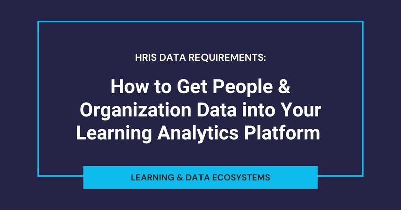 HRIS Data Requirements