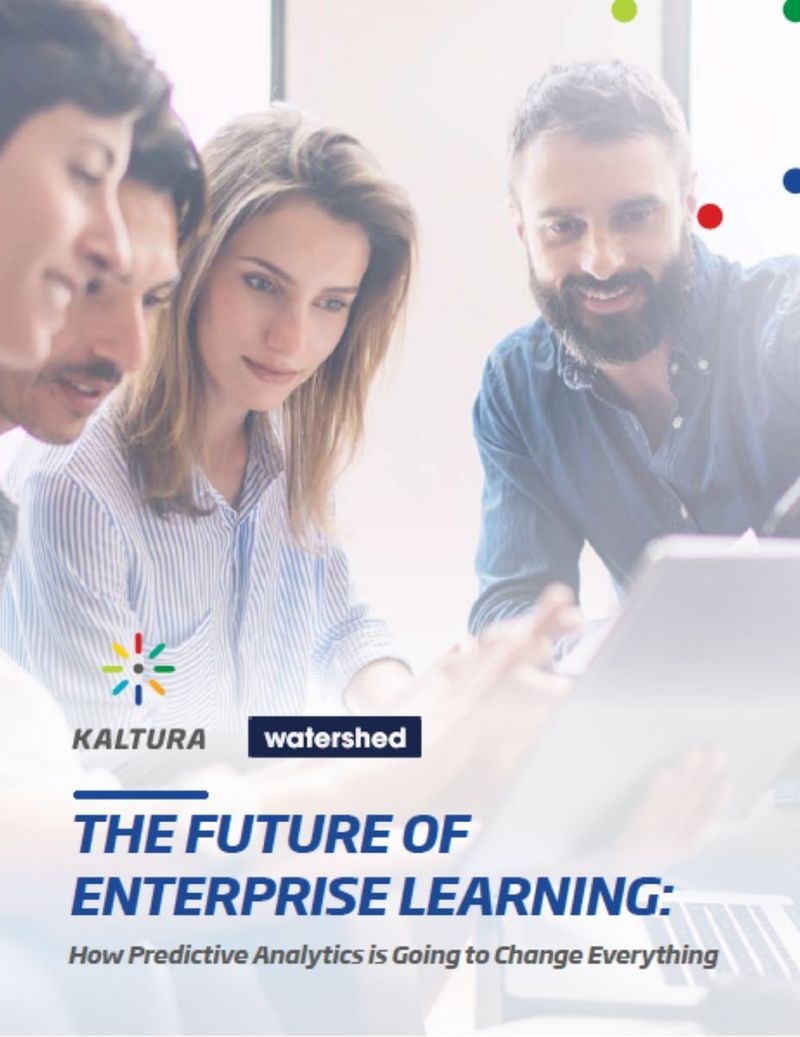 Predictive Analytics Kaltura Watershed eBook