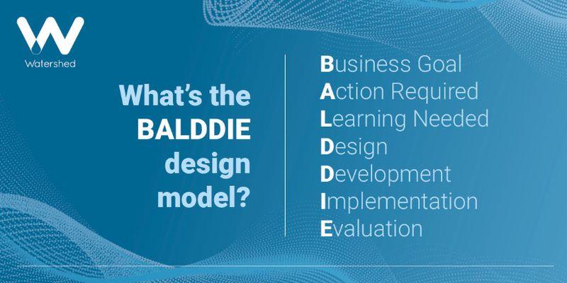 BALDDIE Method for Instructional Design