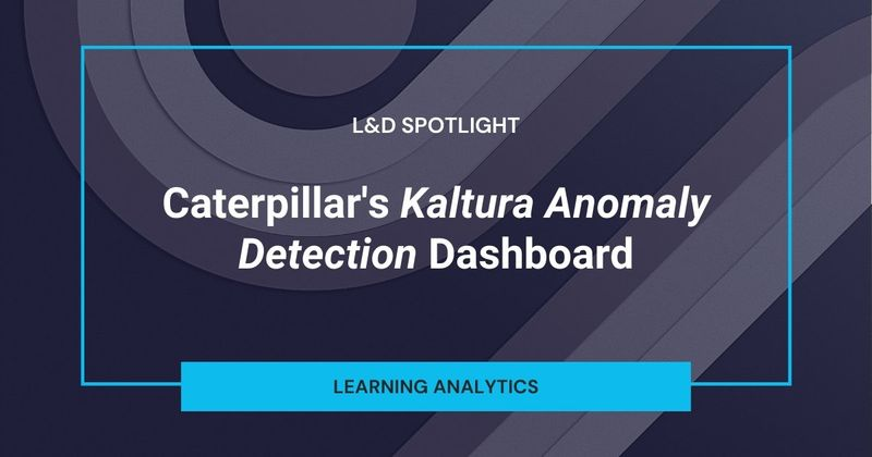 See how Caterpillar finds the most popular learning content using Watershed and Kaltura.