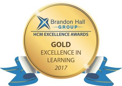 Award logo for excellence in learning