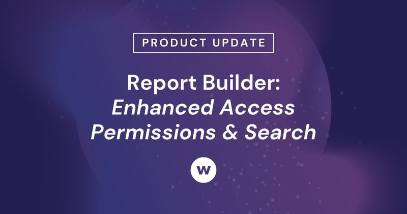 Show learning's impact with Watershed's Report Builder access permissions and search capabilities.