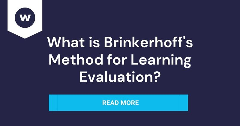 What is Brinkerhoff's Method for Learning Evaluation?