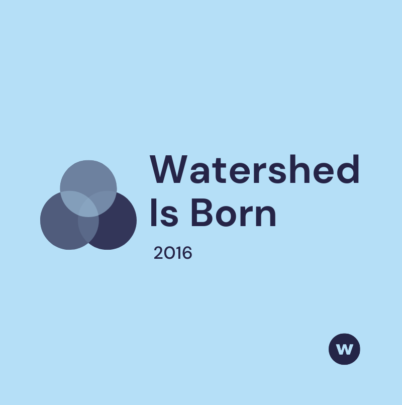 Watershed Is Born