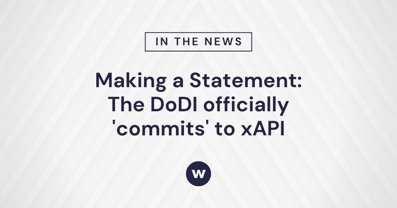 What does DoDI 1322.26's xAPI adoption mean for L&D?