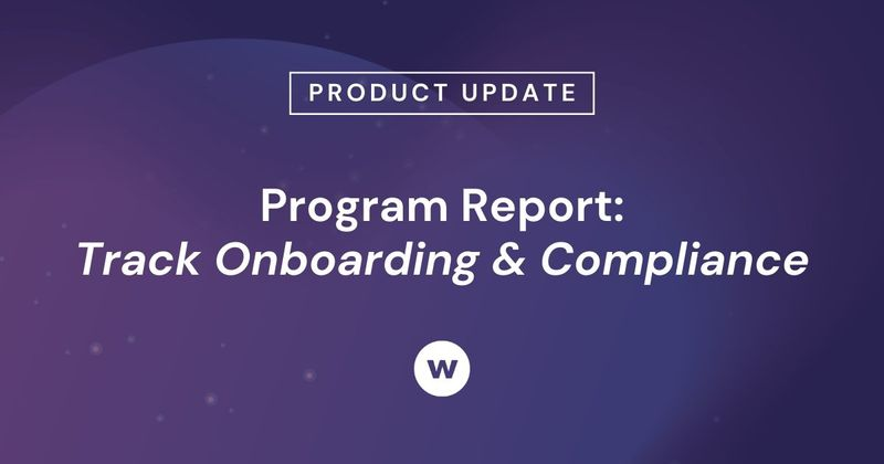 Watershed's Program Report makes it easy to track new hire onboarding and compliance.
