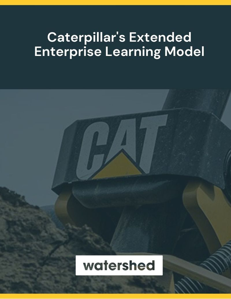 Caterpillar Extended Enterprise Learning Model eBook