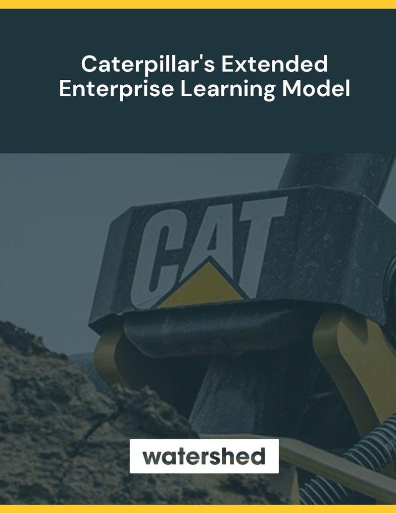 Caterpillar Extended Enterprise Learning Model eBook