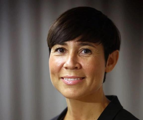 Minister of Foreign Affairs, Ine Eriksen Søreide