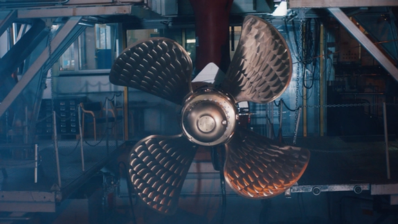 Vessel propellor
