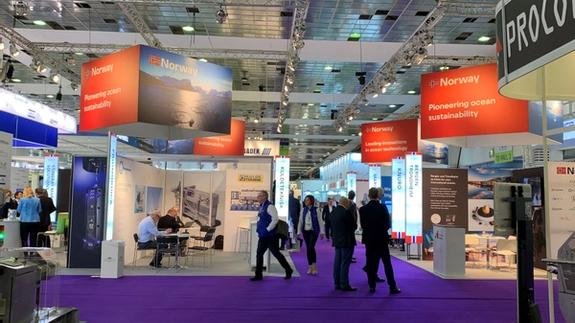 Photo of the Norway pavilion at SPG 2019