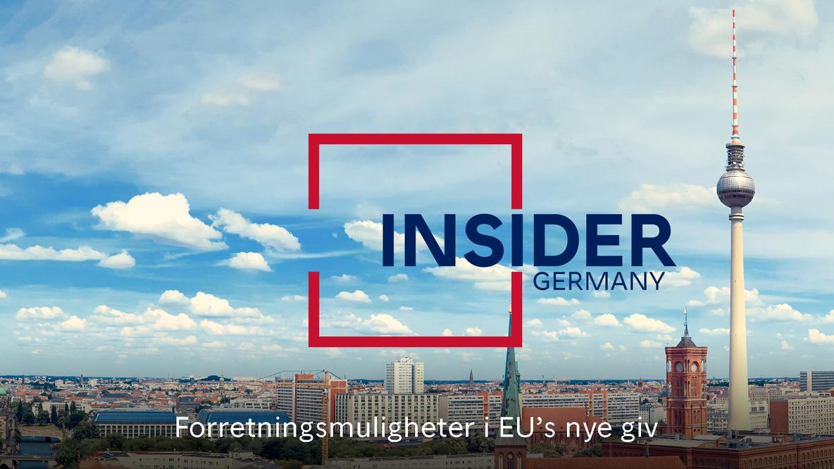 Insider Tyskland-plakat
