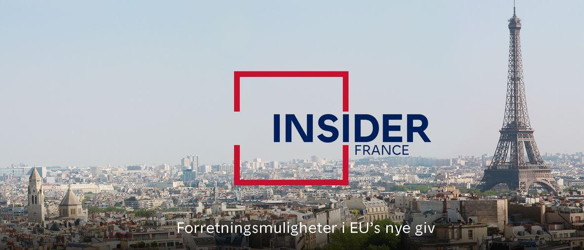 Insider Frankrike-plakat