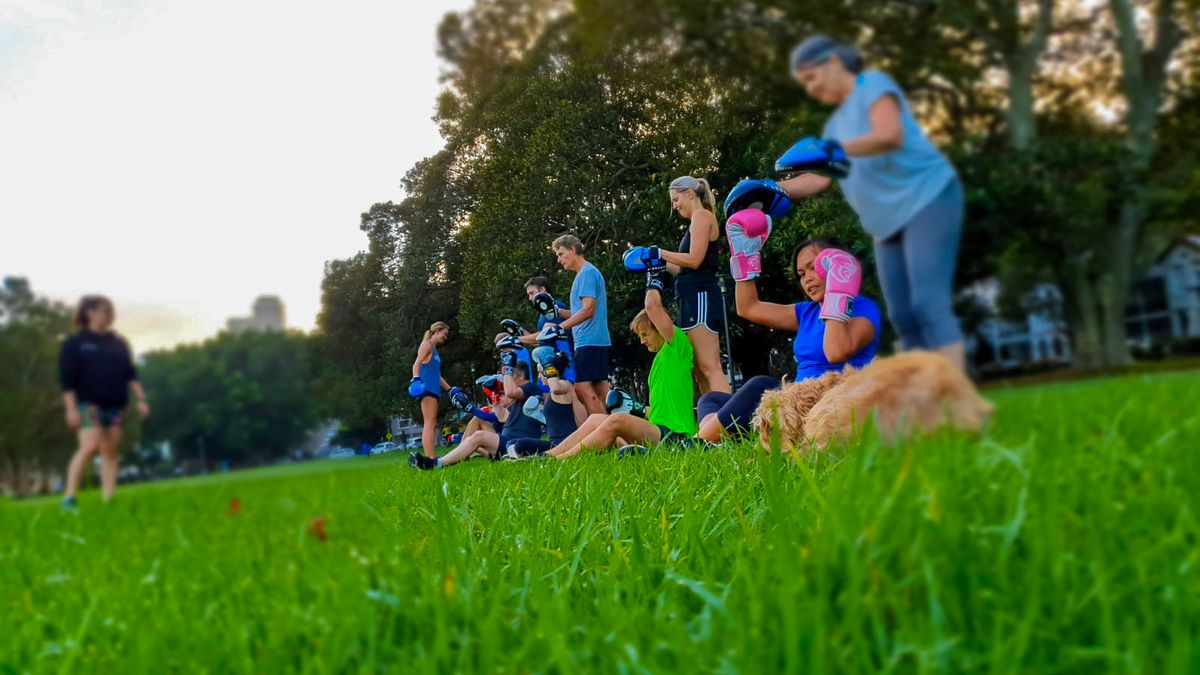 Boxing in Rushcutters Bay with FEAT Fitness