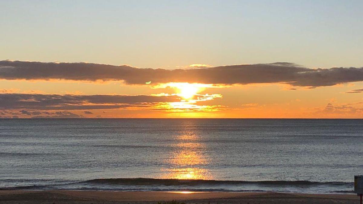 Sunrise in Maroubra Beach