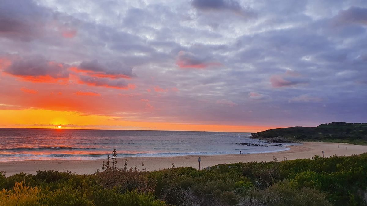 Sunrise on Maroubra Beach