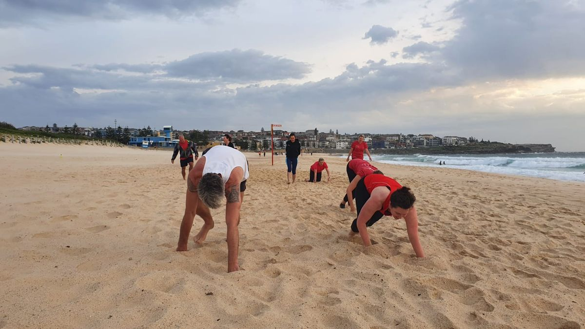 Training on the Sand in Maroubra