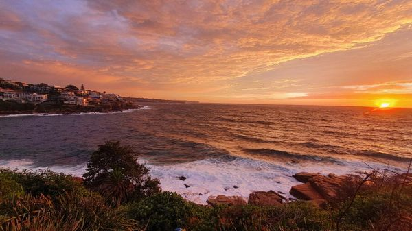 Sunrise at FEAT From Home - Lurline Bay