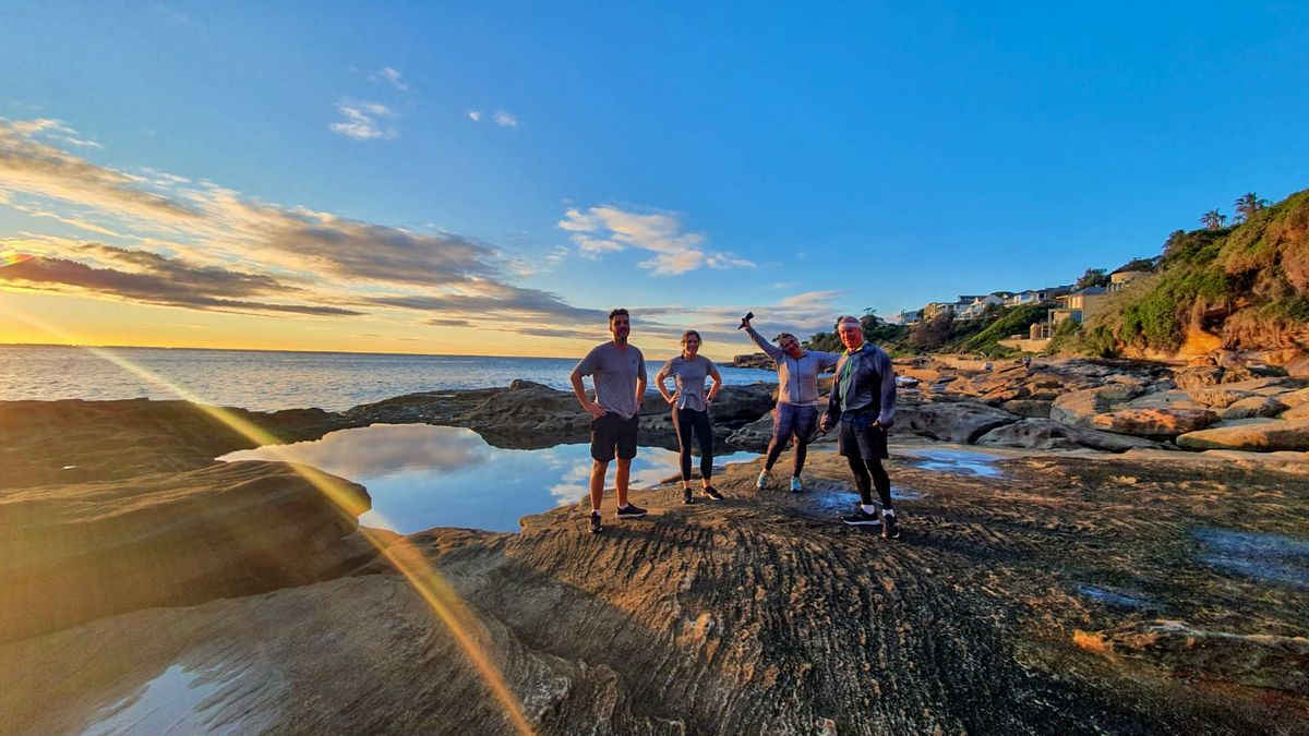 Photo at the Rob Walker Rock Pool from the Maroubra Run