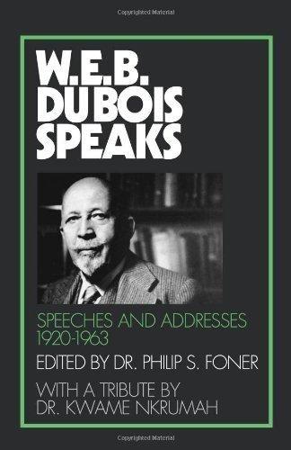 W. E. B. Du Bois Speaks