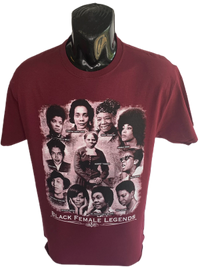 Black Female Legends T-Shirt