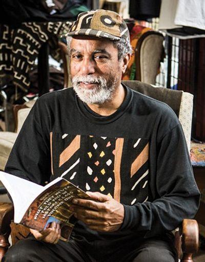 Alkebu-Lan owner/founder Yusef Harris