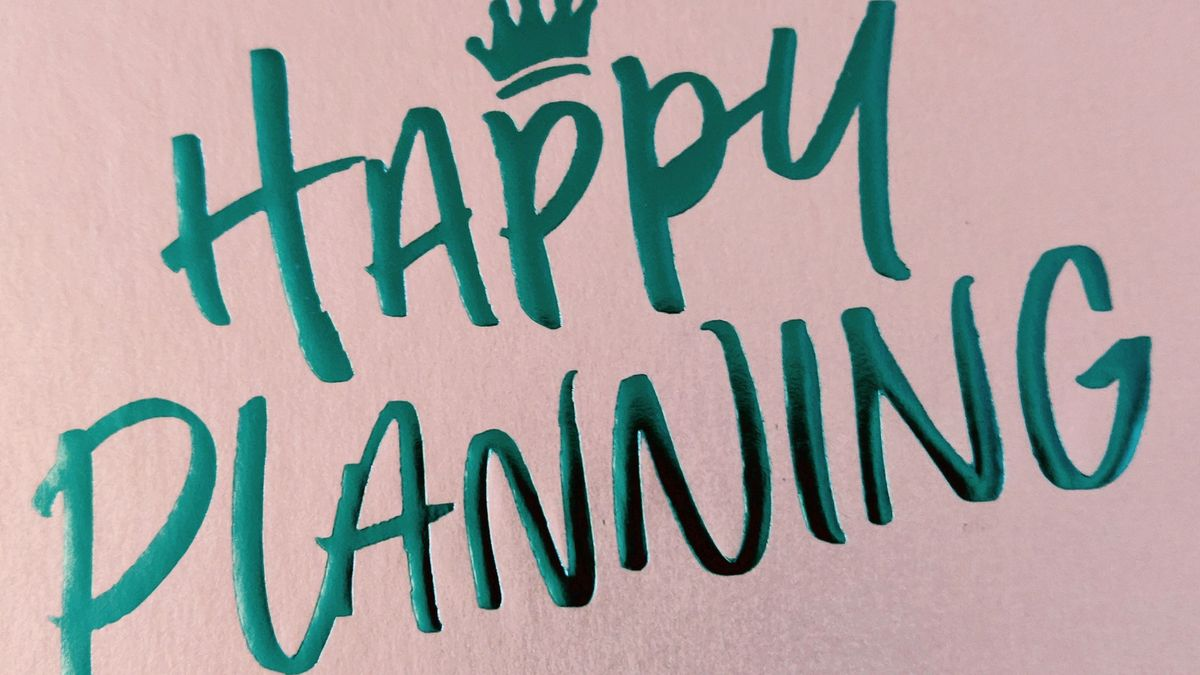 Cover detail of Happy Planning by Charlotte Plain