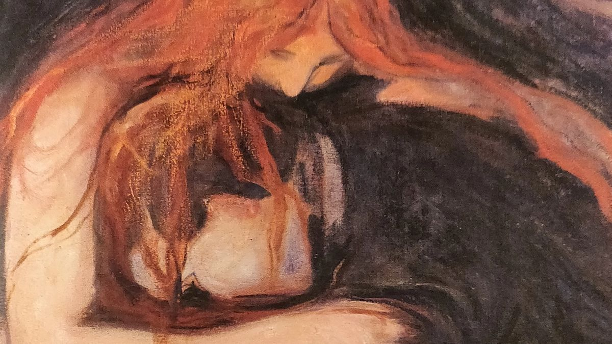 Cover Detail from Dracula by Bram Stoker