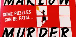 Cover detail of The Marlow Murder Club by Robert Thorogood showing a crossword