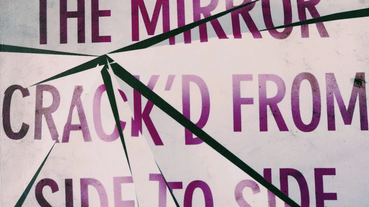 Cover detail of The Mirror Crack'd From Side to Side by Agatha Christie